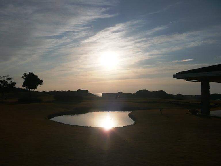 センタープレイスから見える朝日