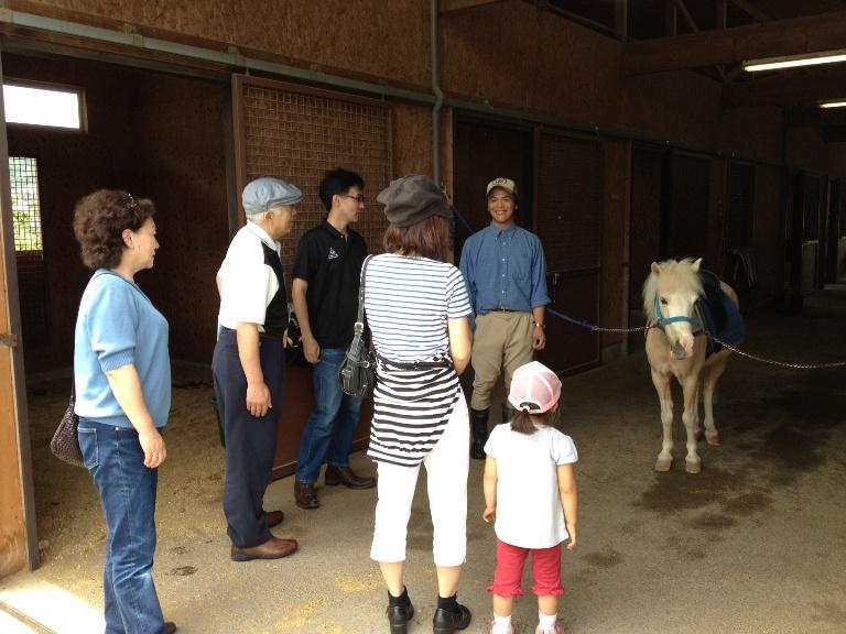 馬と触れ合う日を開催しました!