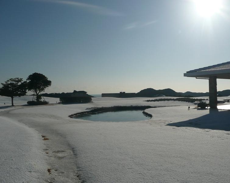 雪景色① 〜センタープレイスからの景色〜