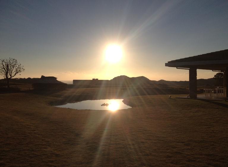 「11月21日 ~ センタープレイスから見える朝日 ~ 」