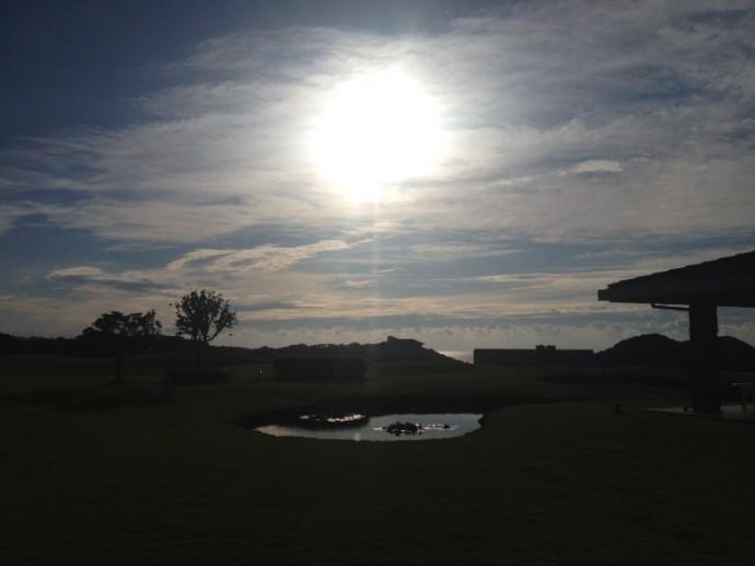 「9月20日 ~ センタープレイスから見える朝陽です! ~ 」