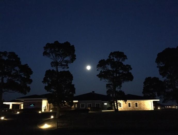 「1月4日 ~ センタープレイスから見える夜空 ~ 」
