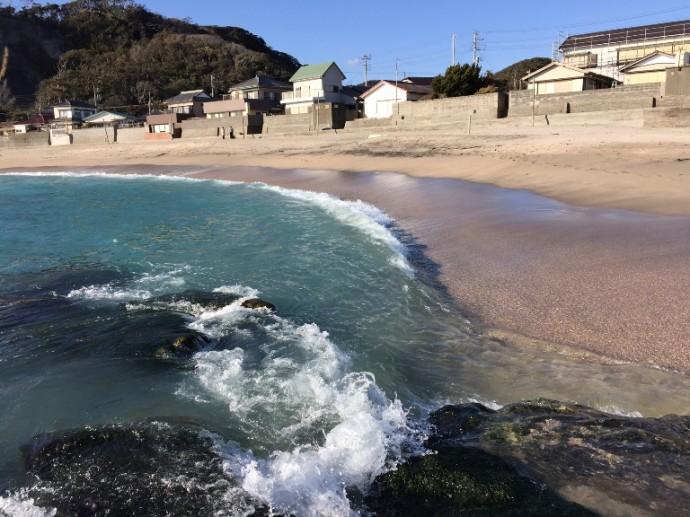 「1月18日 ~ 守谷海水浴場より ~ 」