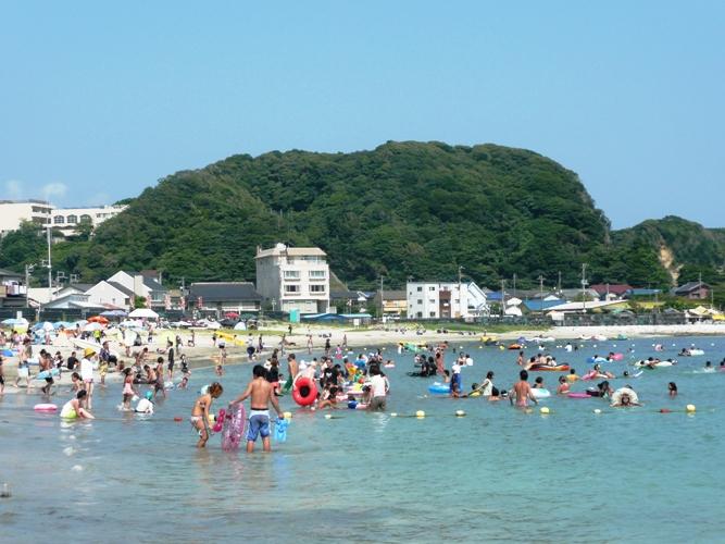 「8月15日 ~興津海水浴場~」