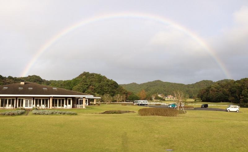 「10月23日 ~ 今朝は美しい虹が出ました! ~ 」