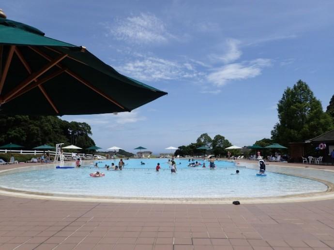 「8月14日 ~ 本日の屋外プール ~ 」