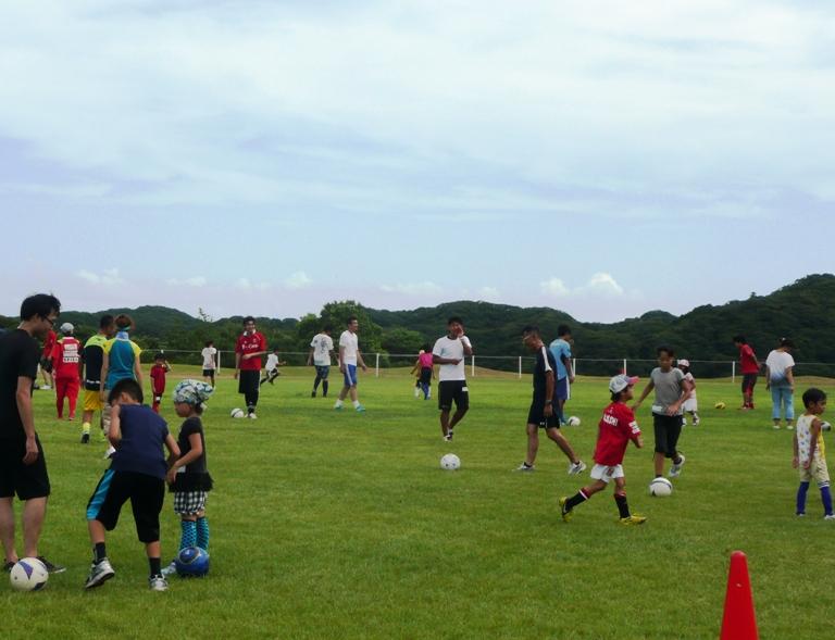 「8月20日 ~ 親子サッカー教室① ~」