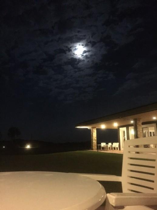 「10月9日 ~ センタープレイスから見える月夜 ~ 」