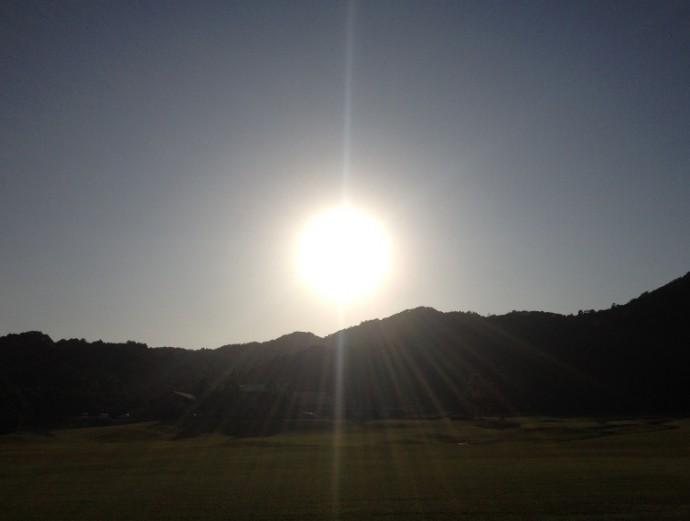 「6月13日 ~ 本日の夕陽 ~ 」