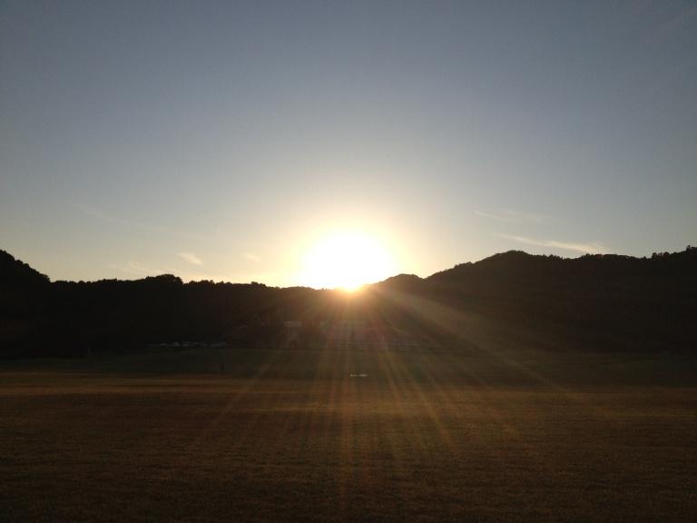 「8月27日 ~ ノースヒルの夕陽 ~
