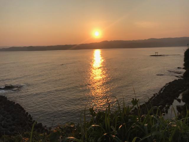 ~ 八幡岬公園からの景色 ~