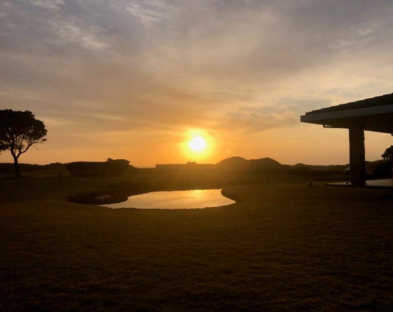 ~ センタープレイスからの朝陽 ~