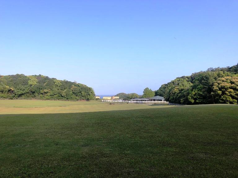 ~ ノースヒル・研修棟前からの眺め ~