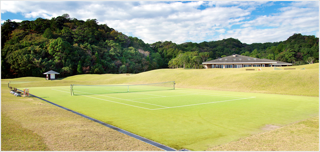Tennis lovers will spend a happy weekend at our tennis court free of charge.